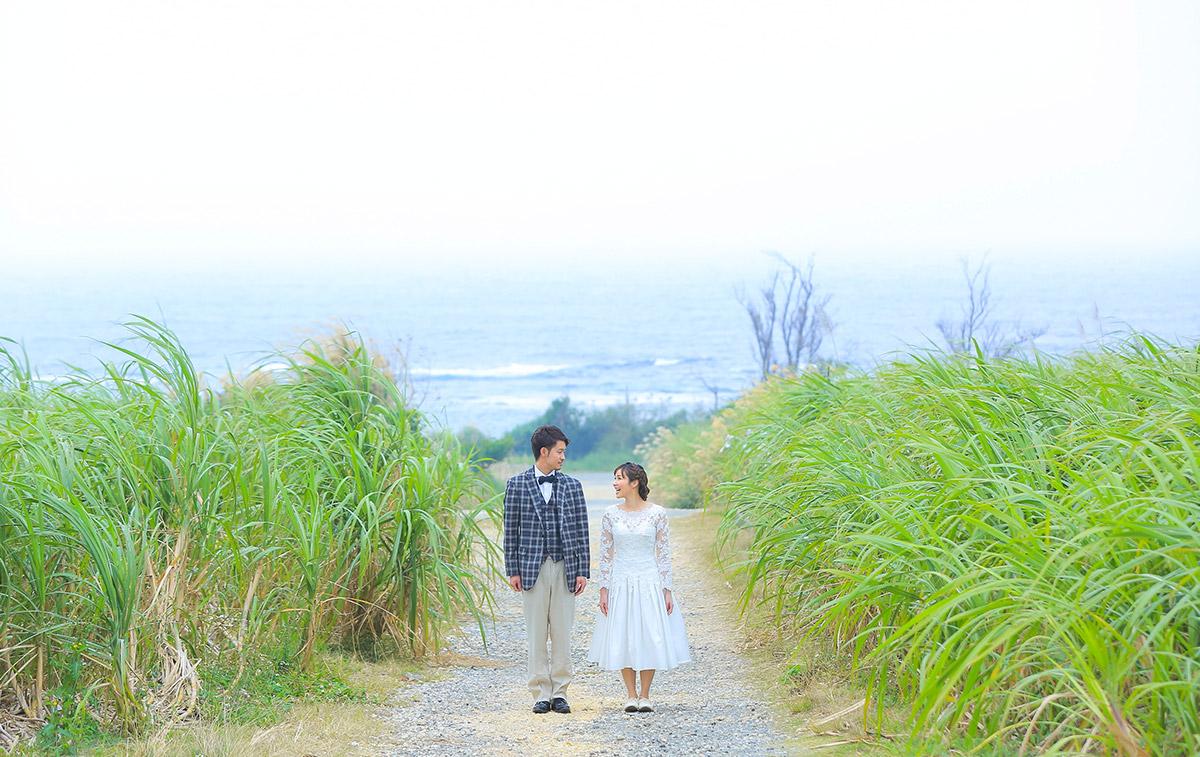 ビーチ+琉球村+さとうきび畑|...